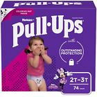 Pull-Ups Girls' Learning Designs Training Pants, 2T-3T, 74 Ct