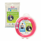Potette Pink Potty Training Bundle - 1 Potette + 30 Disposable Liners