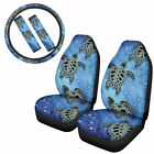 Car Full Set Seat Covers Animal Design With Steering Wheel Cover&Seat Belt Laps