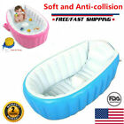 Bathtub Inflatable Tub Portable Bath Spa Child Pool Pvc Kids Folding Baby warm