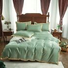 Home Bedding Set Luxury King Size Embroidered Bed Cover Quilt Cover Sheet
