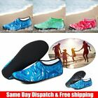 Men Women Kids Aqua Water Shoes Barefoot Socks Quick-Dry Beach Sports Exercise
