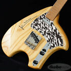 Steve Klein S Tele Swamp Ash Body Nat W Black Perl Gold Lines Pg for sale