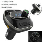 Bluetooth Wireless Car AUX Audio Receiver FM Transmitter Adapter USB Charger Hot