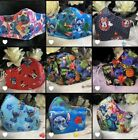 Disney ,Adult, Junior ,lilo and stitch snoopy Nano Face mask,hair scrunchies,bow