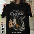 Horror The Crow It Can't Rain All The Time Believe In Angels Tshirt Men Black