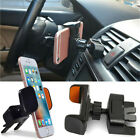 Safety In Car Air Vent CD Slot Mount Cellphone Holder for Samsung Galaxy iPhone