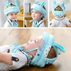 Toddler Infant Baby No Bump Safety Helmet Hat Cartoon Animal Head Cushion Bonnet