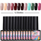 MAD DOLL 12Bottles Set UV Gel Nail Polish Soak Off LED Top Base Starter Kits 8ml