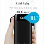 20000mAh Power Bank Thin & Light 2 USB Portable External Battery Backup Charger.