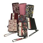 Mundi Big Fat RFID Blocking Checkbook Wallet Wristlet