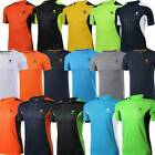Men's Breathable T-Shirt Wicking Cool Running Gym Top Sports Performance Tee