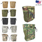 Protable MOLLE Tactical Magazine Dump Drop Pouch Military Airsoft Recycling Bag