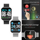 Smart Watch Bluetooth Heart Rate Blood Pressure Monitor Fitness Tracker Bracelet blood bluetooth Featured fitness heart monitor pressure rate smart tracker watch