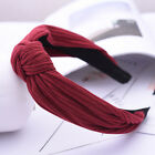 Women's Girl Hairband Twisted Knot Headband Headwrap Hair Band Hoop Accessories