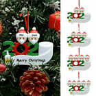 2020 Snow Family Santa Christmas Home Party Hanging Ornaments Decorations Gifts