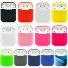 1PC Silicone Shock Proof Protective Cover Case Skin For Apple AirPods Earphones