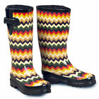 M&F Western Womens Ladies Leanne Chevron Round Toe Leg U-8112