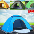 Waterproof 3-4 Person Instant Pop Up Family Outdoor Tent Camping Hiking Tent US