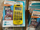 Aurora HC206 Handheld Compact Calculator Dual Power Metallic Color Lot of 5