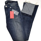 7 For All Mankind Womens Jeans 777 Rocker Distressed Bootcut Denim Bottoms New
