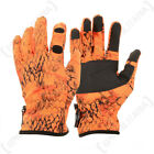 Verney Carron Hunting Hiking Camouflage Waterproof Snake Gloves - Blaze