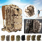 30L Military Tactical Army Backpack Rucksack Camping Hiking Trekking Outdoor