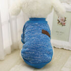 Pet Dog Cat Warm Fleece Vest Clothes Coat Puppy Shirt Sweater Winter Apparel US