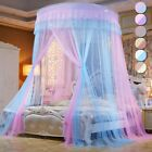 Luxury Round Double Mosquito Net Princess Bed Tent Curtain Foldable Canopy