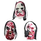 Horror Scary Bloody Zombie Latex Mask Haunted Cosplay Party Halloween Costume US