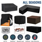 Waterproof Garden Patio Furniture Cover Rectangle Outdoor Table Chair Set Cover