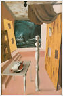 Artist Rene Magritte Fine Art Poster Print of Painting The Difficult Crossing