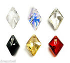 Kyпить Swarovski Crystal Element 6320 Rhombus Drop Pendant  Many Colors & Size на еВаy.соm