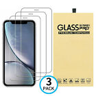 3-Pack Tempered Glass Screen Protector Cover For iPhone 12 11 Pro Max X XS XR