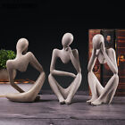 Modern Art Home Decoration Thinker Statue Sculpture Accessories For Living Room