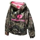 Mossy Oak 1327XSS Girls Camo Pullover Hoodie Sweatshirt Embroidered Logo NEW!