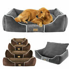 Mulituse Dog Bed Puppy Cushion Soft Warm Lounger Sofa with Detachable Cover Mat