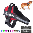 Dog Harness NO PULL Reflective Breathable Adjustable Pet Harness Custom Patch