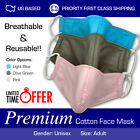 Premium Quality Cotton Fashion Washable Reusable Breathable For Unisex Face Mask