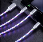 Light Up Phone Charger LED USB Cable Cord For iPhone Type C Micro US For Xbox Ps