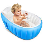 Portable Inflatable Bathtub Baby Kids Folding SPA Warm Bath Tub Swimming Pool US