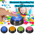 Squeeze Led Recordable Talking Sound Button Game Buzzer For Kids Interactive