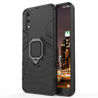 Rugged Armor Ring Stand Cover For Huawei P30 P20 Pro Mate 20 Lite P Smart Case