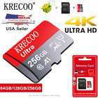 256GB Micro SD Card 4K Class10 280MB/s High Speed Memory Card with Adapter USA