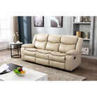 Leather Recliner Sofa Set 1+2+3 Seater Couch Loveseat Living Room Furniture