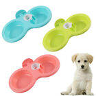 JW_ US_ Hanging Dual Bowl Pet Cat Kitten Dog Food Water Container Drinking Fee