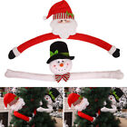 Christmas Santa Claus Snowman Toy Doll Xmas Tree Topper Decoration Ornament US