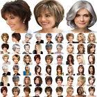 Women Real Natural Short Straight Wavy Curly Pixie Cut BOB Full Hair Wig Cosplay