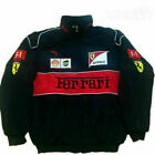2020 Mens FERRARI Red black Embroidery EXCLUSIVE JACKET suit F1 team racing