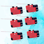Electric Limit Switches 2 Pins Push Button Long Hinge Lever Micro Switches